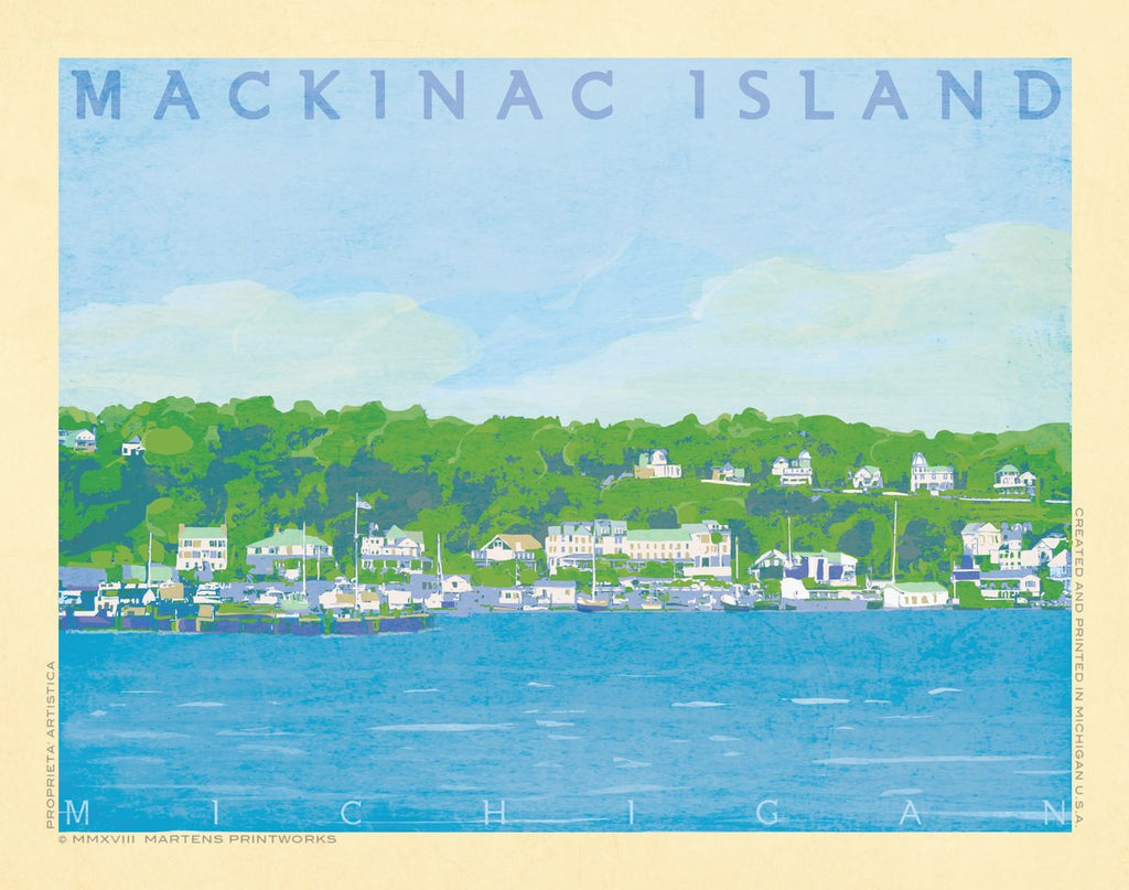 Mackinac Island Print No. [078]