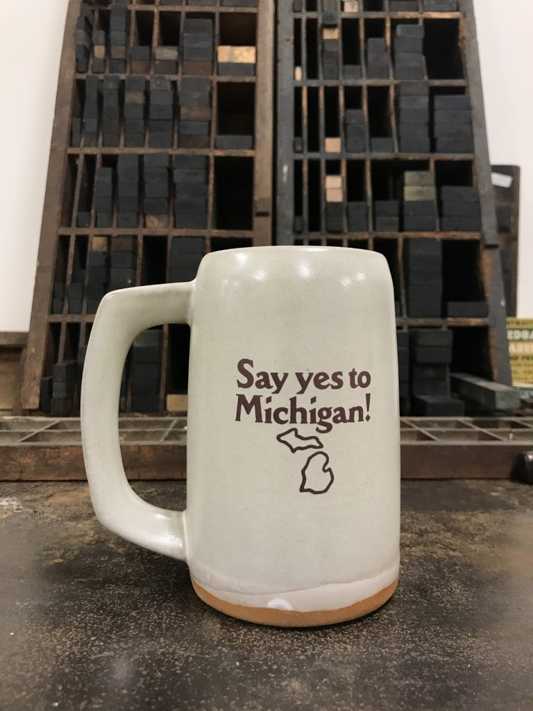 Say Yes to Michigan! Stein