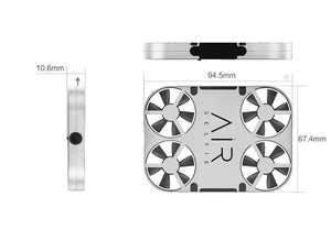 Air Pix a cool mini drone with hd wifi camera app remote control pocket sized selfie drone...