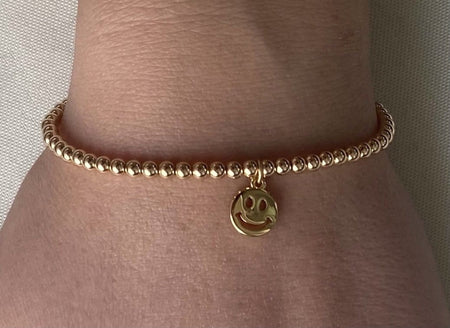 4mm Gold Filled Smile Bracelet bracelet-adjustable