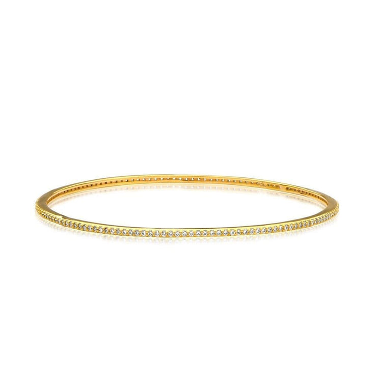 All Around Cz Bracelet Gold Bracelet-Bangle
