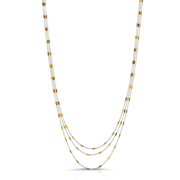 Continuous Layered Necklace necklace-long