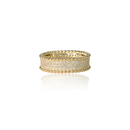 Angelina Ring 5 / Gold ring-specialty