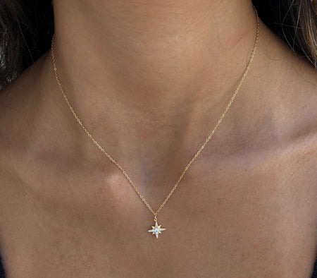 North Star Necklace necklace-short