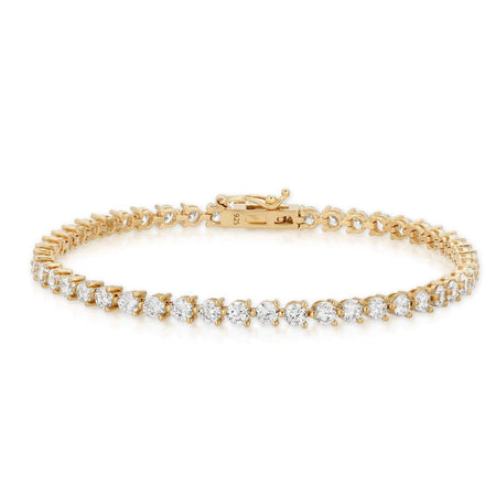 Tennis Bracelet Gold bracelet-bangle