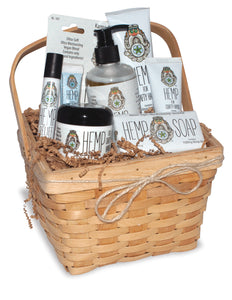 Hemp Gift Basket