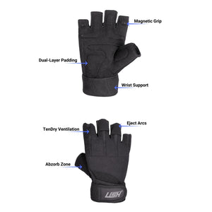 MAGRIP Weight Lifting Gloves Features