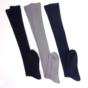 3-Pack Women's Premium Comfortable Cotton Knee-high Socks