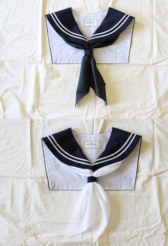 CLASSIC Sailor Collar Black or White