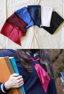 Authentic Japanese School Uniform Narrow Scarf