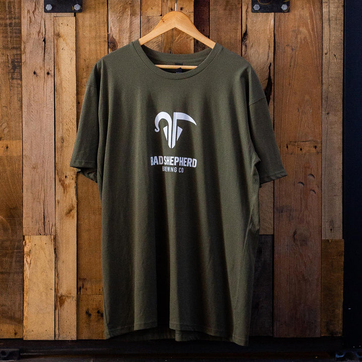 Logo T-Shirt Army Green (Unisex)