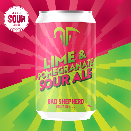 Lime & Pomegranate Sour
