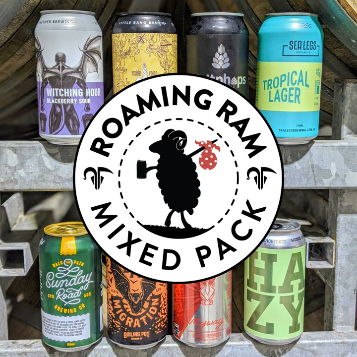 Roaming Ram Mixed Indie 12 Pack