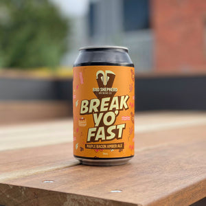 Break Yo' Fast Maple Bacon Amber Ale