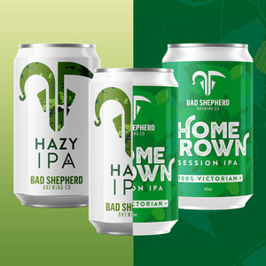 Half & Half Case: Homegrown Session IPA & Hazy IPA