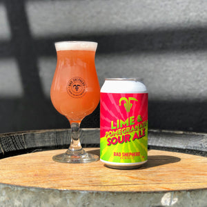 Half & Half Case: Lime & Pomegranate Sour + Passionfruit Sour