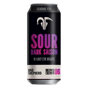 Sour Dark Saison