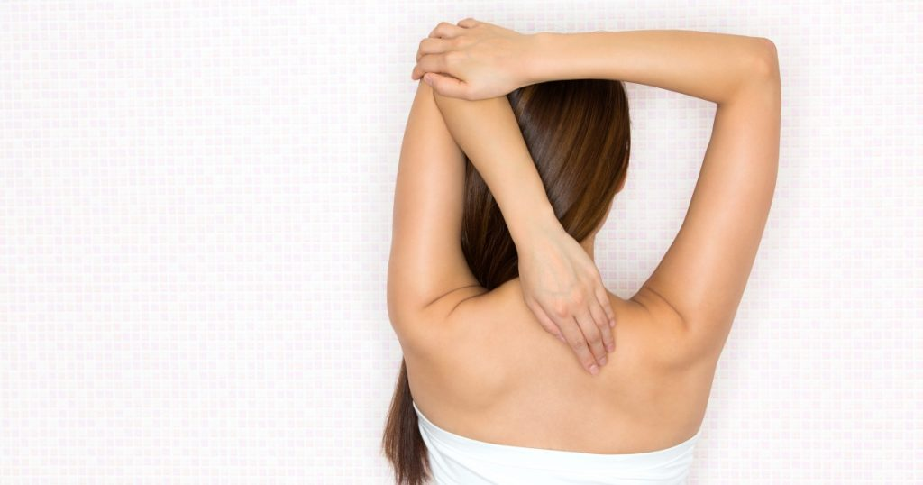 Shoulder & Neck Stretch | Adashiko Collagen | 100% Natural Skin Care