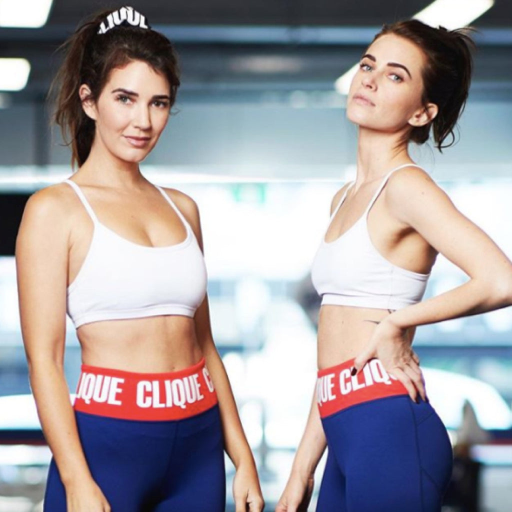 Corina & Bex West side by side, founders of Clique Fitness | Adashiko Collagen | 100% Natural Skin Care