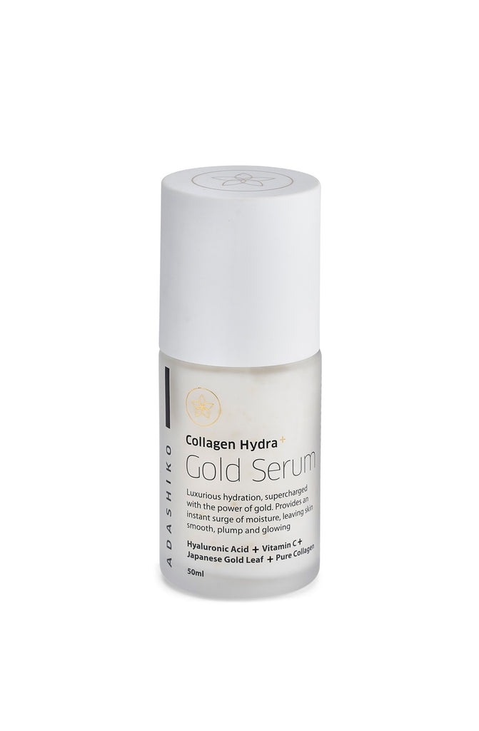 Collagen Hydra+ Gold Serum 50ml | Adashiko Collagen | 100% Natural Skin Care