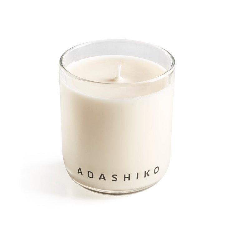 Adashiko Candle - single candle in glass jar | Adashiko Collagen | 100% Natural Skin Care