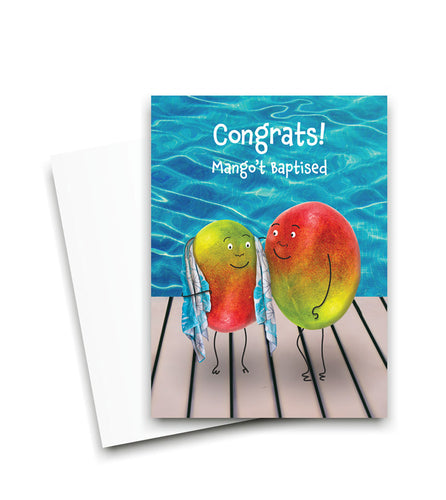 Mango-t Baptised Card