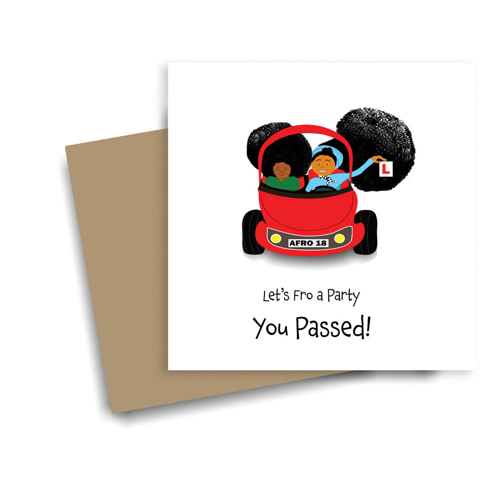 You passed - Frowing a Party