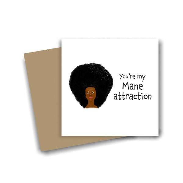 The Mane Attraction Card