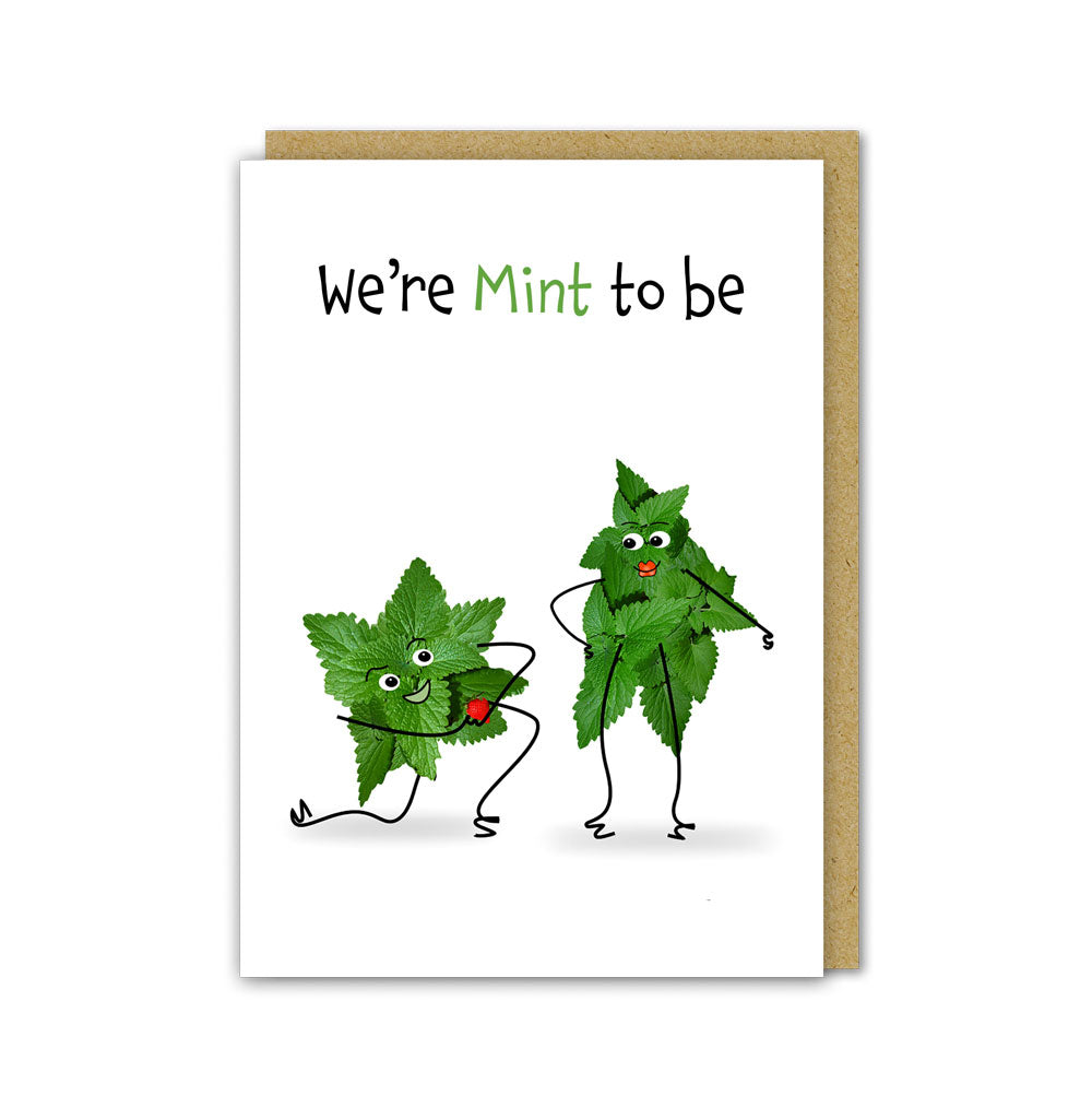 Mint to Be Card