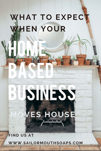 What To Expect When Your Home Based Handmade Business, Moves House