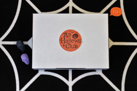 allhallowsclub subscription box for halloween lovers australia