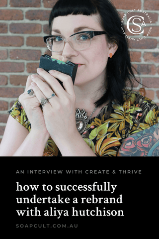 soap cult australia interview with create and thrive podcast