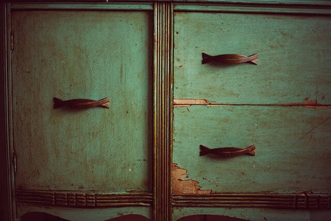 distressed-green-vintage-dresser-cupboard-sideboard-storage-gothic-sailormouthsoaps-blog-handmade-soap