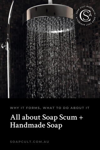 how to avoid soap scum and clean less often
