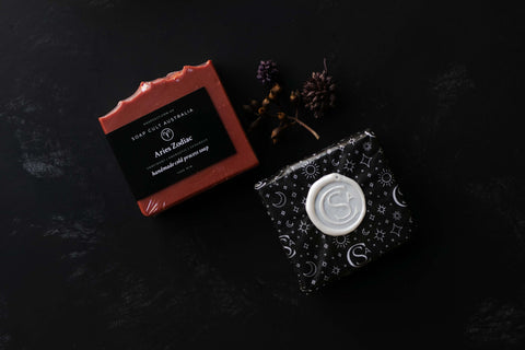 aries zodiac soap by soap cult australia gifts for horoscope