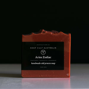 red sandalwood soap for aries star sign