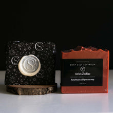 gifts for aries star sign red sandalwood soap