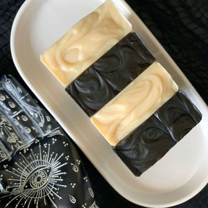 soap makers in australia cold process vegan palm free gothic spooky weird halloween