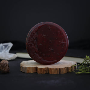 mystical blood red moon soap for halloween