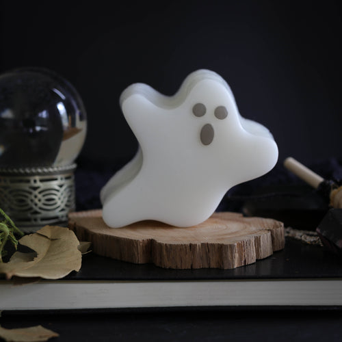 cute ghost soap with minty fresh scent