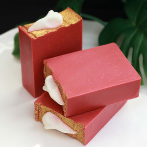 Crushed Velvet Fruit Tea Cold Process Soap Limited Edition