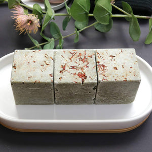 Hemp and Olive Salt Bar Cubes Cold Process Soap