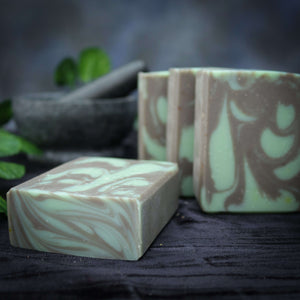 Earthy Patchouli Handmade Cold Process Soap