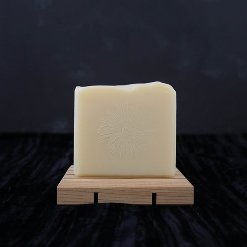 creamy handmade soap starburst stamp pattern housewarming gifts