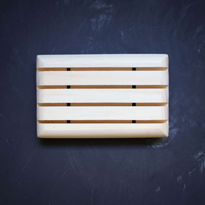 plain wooden soap dish from soap cult australia