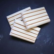 timber soap dish to make handmade soap last longer