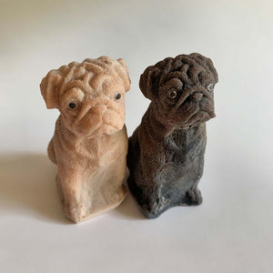 Original Pug Dog Soap in Fawn or Black