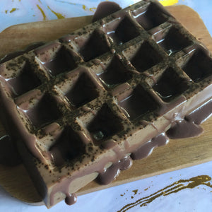 Waffle Soap Chocolate Drizzle - Sailor Mouth Soaps
