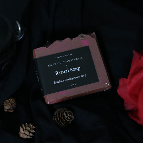 witchy handmade soap nag champa cleansing ritual