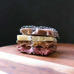 rustic handmade soap sample gift pack australia